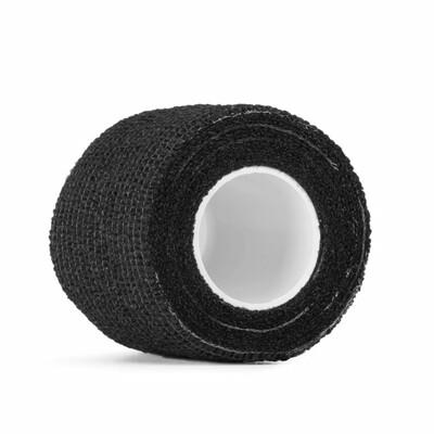 Бандажный эластичный бинт5 см. чёрный