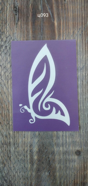 Трафарет для блеск-тату  032