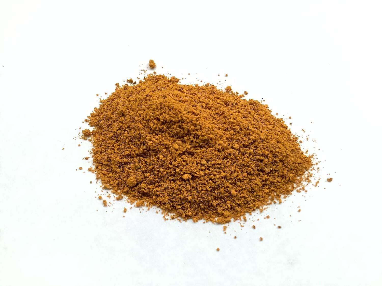 Açafrão orgânico em pó- pote de 65 gramas