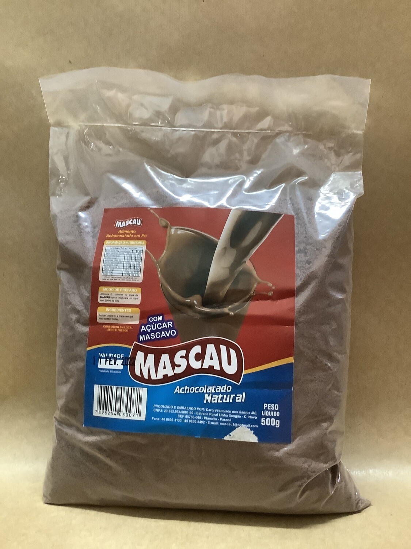 Achocolatado com açúcar mascavo- 500 gramas