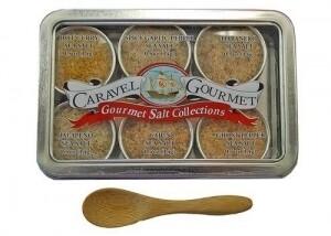 Spicy sea salt sampler