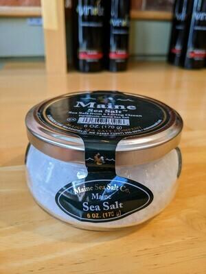 Maine Sea Salt Plain (6 oz) jar