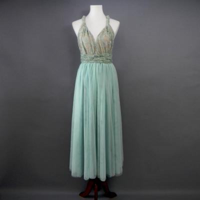 Sage Long Tulle Skirt
