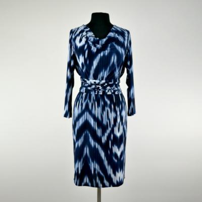 Jacqueline Tie Dye Long Sleeve Infinity Midi