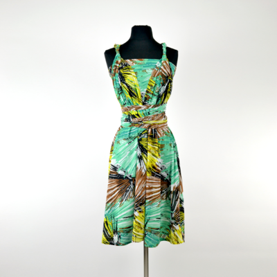 Calista Tropical Green Infinity Midi