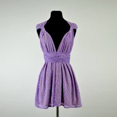 Lilac Lace Infinity Top