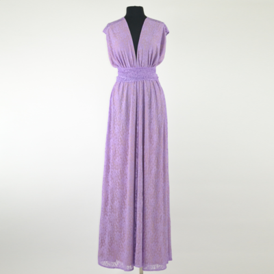 Calista Lilac Lace Infinity Maxi