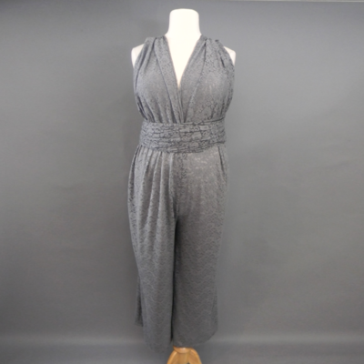 Calista Gray Lace Infinity Jumpsuit