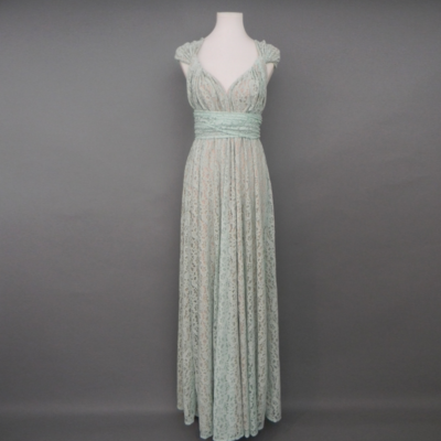 Calista Mint Lace Infinity Maxi