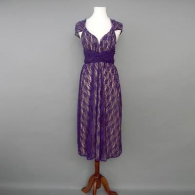 Calista Purple Lace Infinity Midi