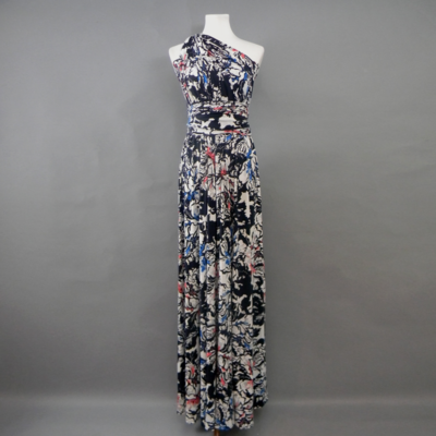 Calista Winter Floral Infinity Maxi