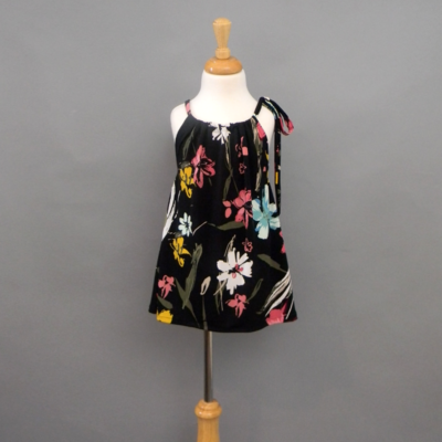 Evie Fall Floral Pillow Dress