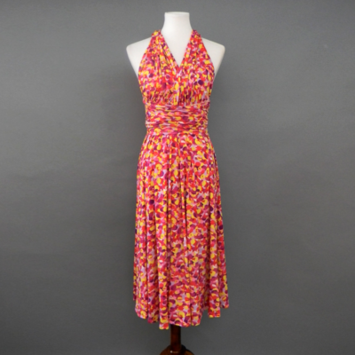 Calista Dotted Pink Infinity Midi