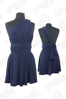Navy Infinity Mini Dress
