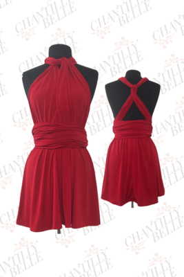 Red Infinity Mini Dress