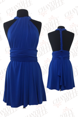 Royal Blue Infinity Mini Dress