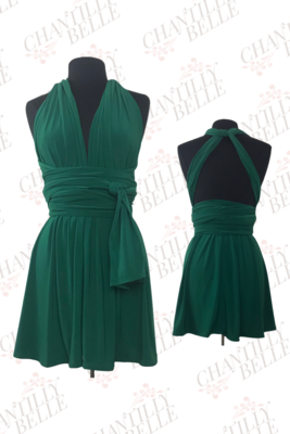Green Infinity Mini Dress
