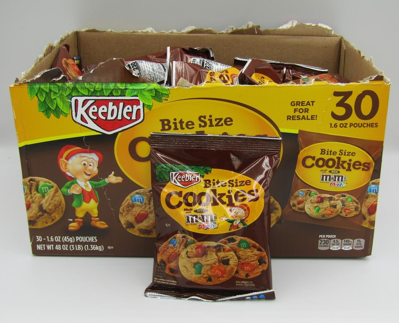M&M Bite Size Cookies