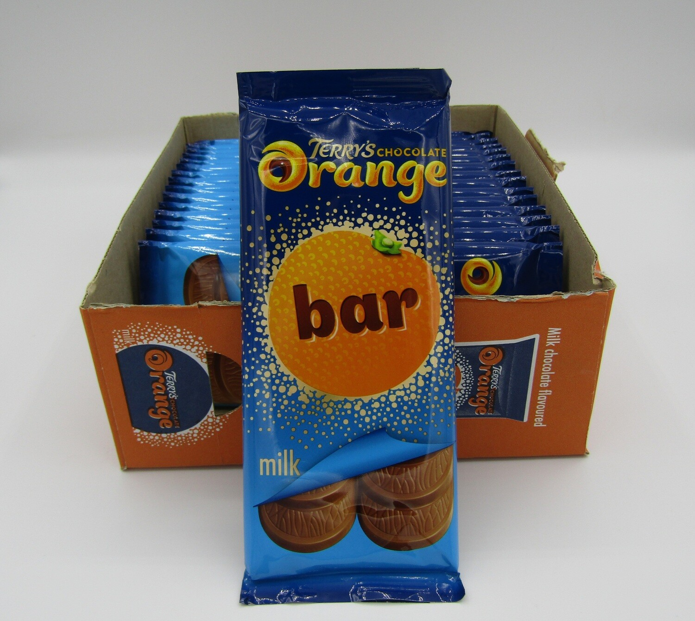 Terry's Chocolate Orange Block Bar