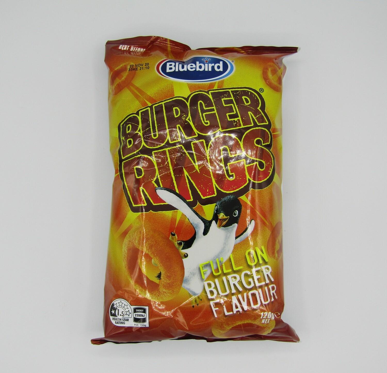 Bluebird Burger Rings 120g