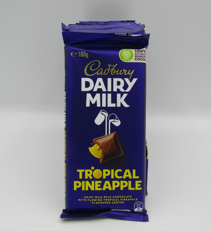 Cadbury Tropical Pineapple Share Block Bar
