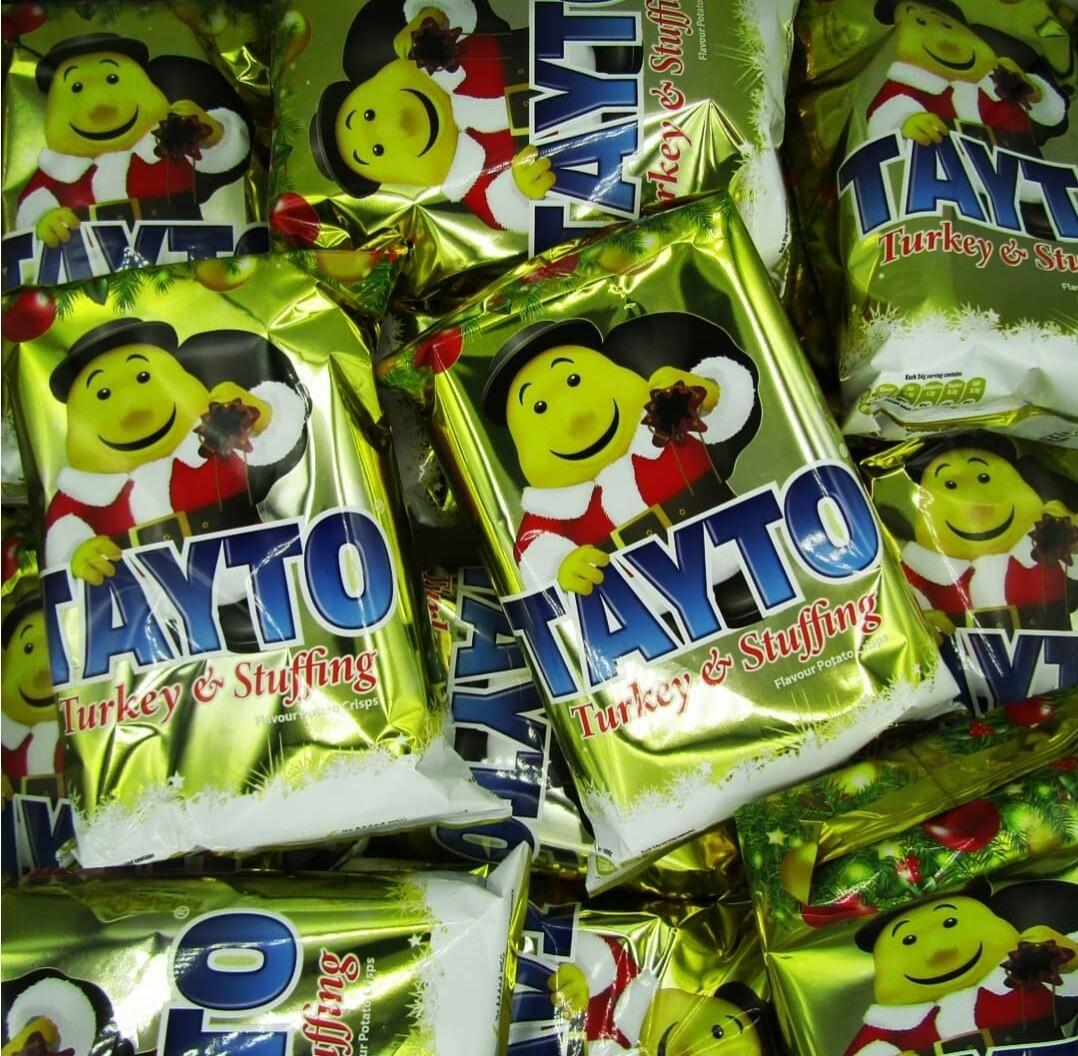 Tayto Turkey& Stuffing 135g Bag