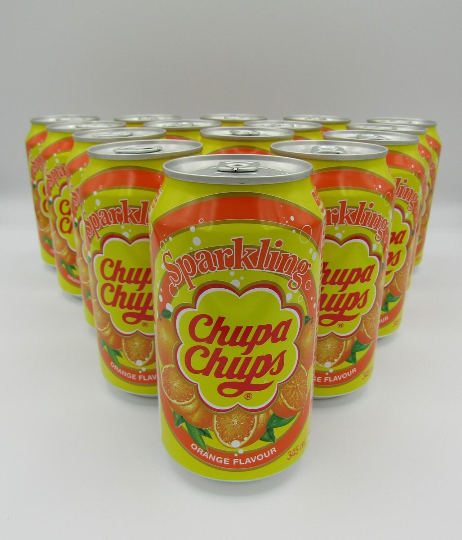 Chupa Chups Sparkling Orange