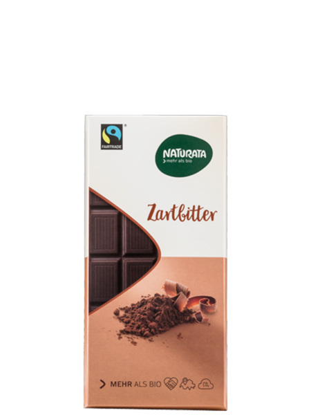 Naturata Organik Bitter Çikolata