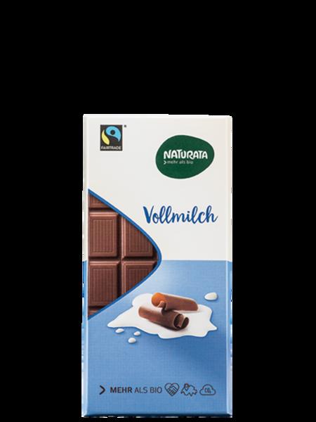Naturata Organik Sütlü Çikolata
