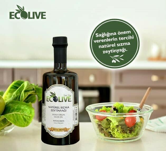 Ecolive Natürel Sızma Zeytinyağı 500ml