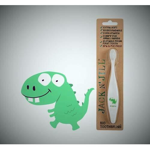 Jack'n Jill Çocuk Diş Fırçası Dino