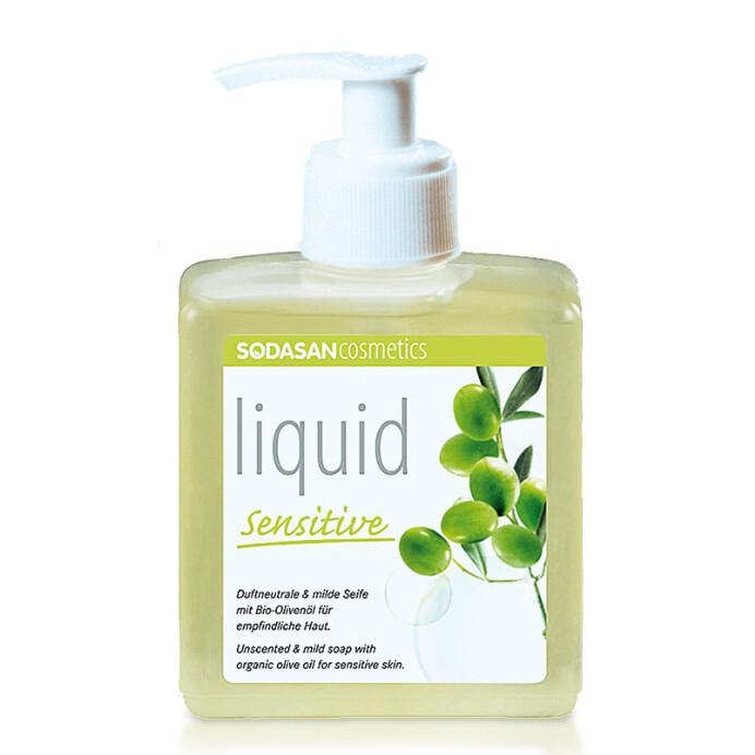 Sodasan Organik Sıvı El Sabunu Hassas Cilt 300ml