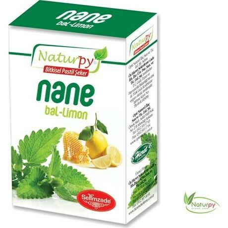 Naturpy Nane Bal Limon Pastil