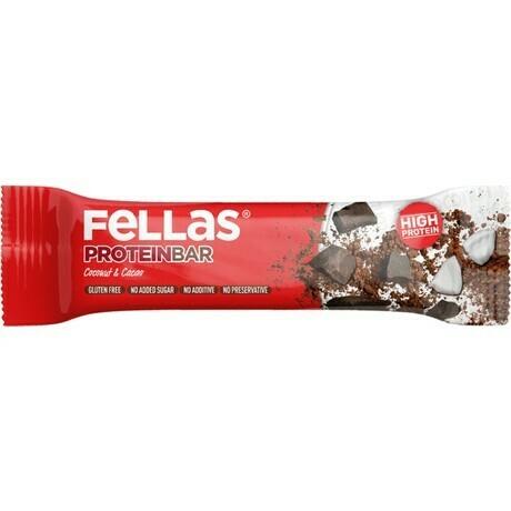 Fellas Hindistancevizi ve Kakao Protein Bar 32 gr
