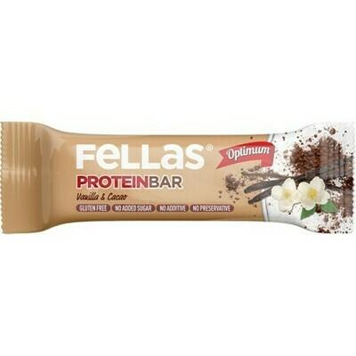 Fellas Vanilya ve Kakao Protein Bar 32 gr