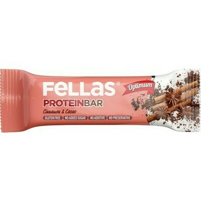 Fellas Tarçın ve Kakao Protein Bar 32 gr