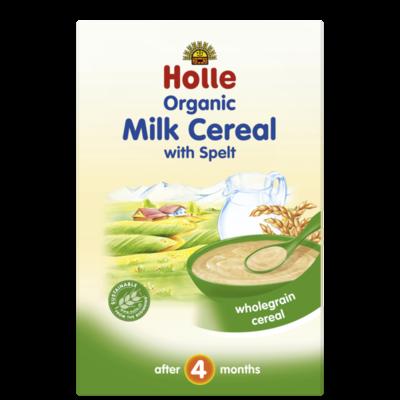 Holle Baby Sütlü Buğdaylı Tahıl Püre 250 gr