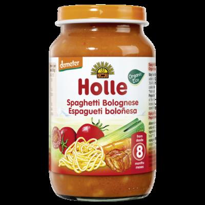 Holle Baby Dana Etli Makarna (Spagetti Bolonez)