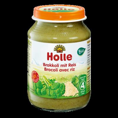 Holle Baby Pirinçli Brokoli 190 gr