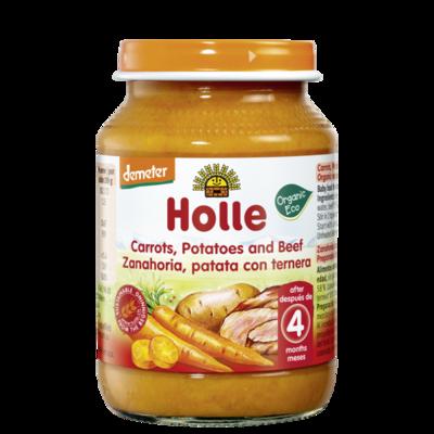 Holle Baby Havuç Patates Dana Eti 190 gr