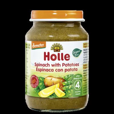 Holle Baby Ispanaklı Patates 190 gr