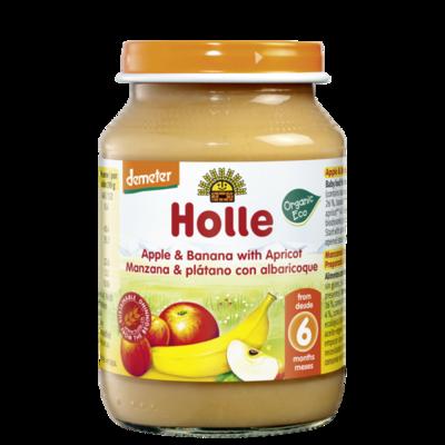 Holle Baby Kayısı Elma Muz 190 gr