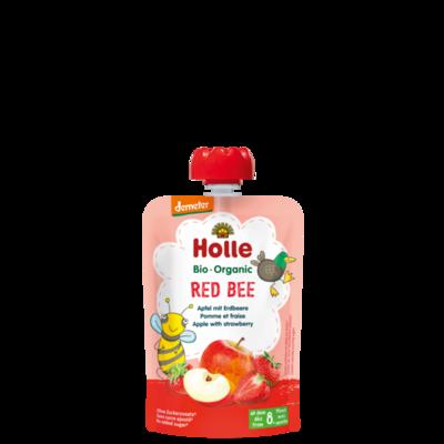 Holle Red Bee Elma Çilek Püresi
