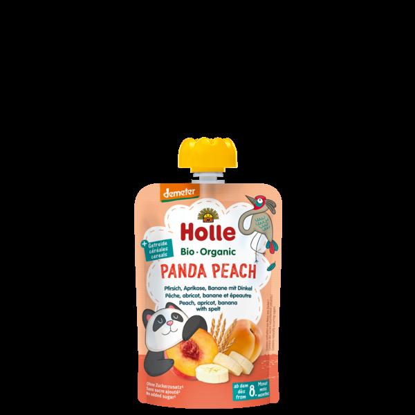 Holle Panda Peach Şeftali Kayısı Muz Püresi