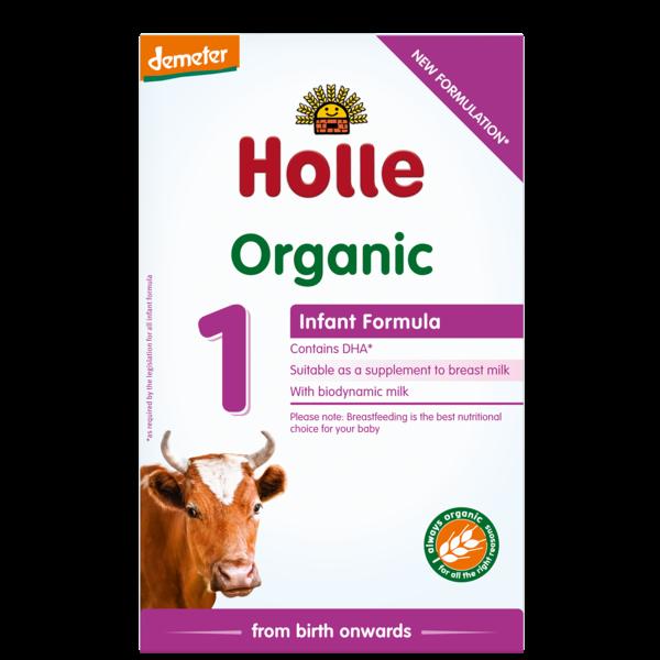 Holle Organik Bebek Maması Formülü 1