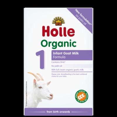 Holle Organik Keçi Sütü Formülü -1- Doğumdan itibaren