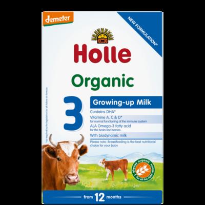 Holle Organik Bebek Büyüyen Süt Formülü -3-