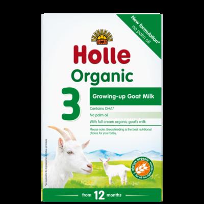 Holle Organik Bebek Keçi Sütü Formülü -3-