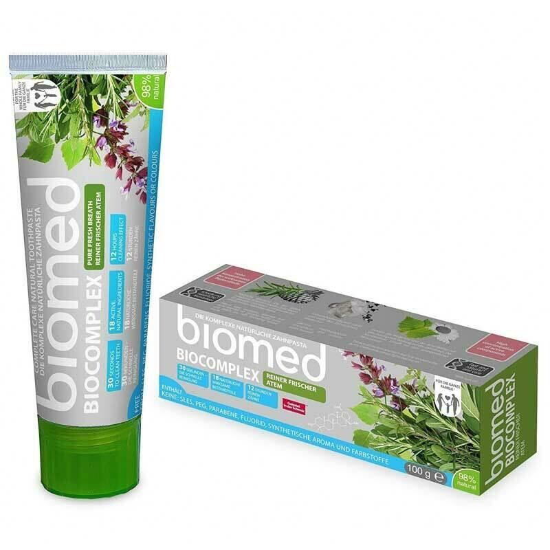 Biomed Biocomplex Ferah Nefes Diş Macunu