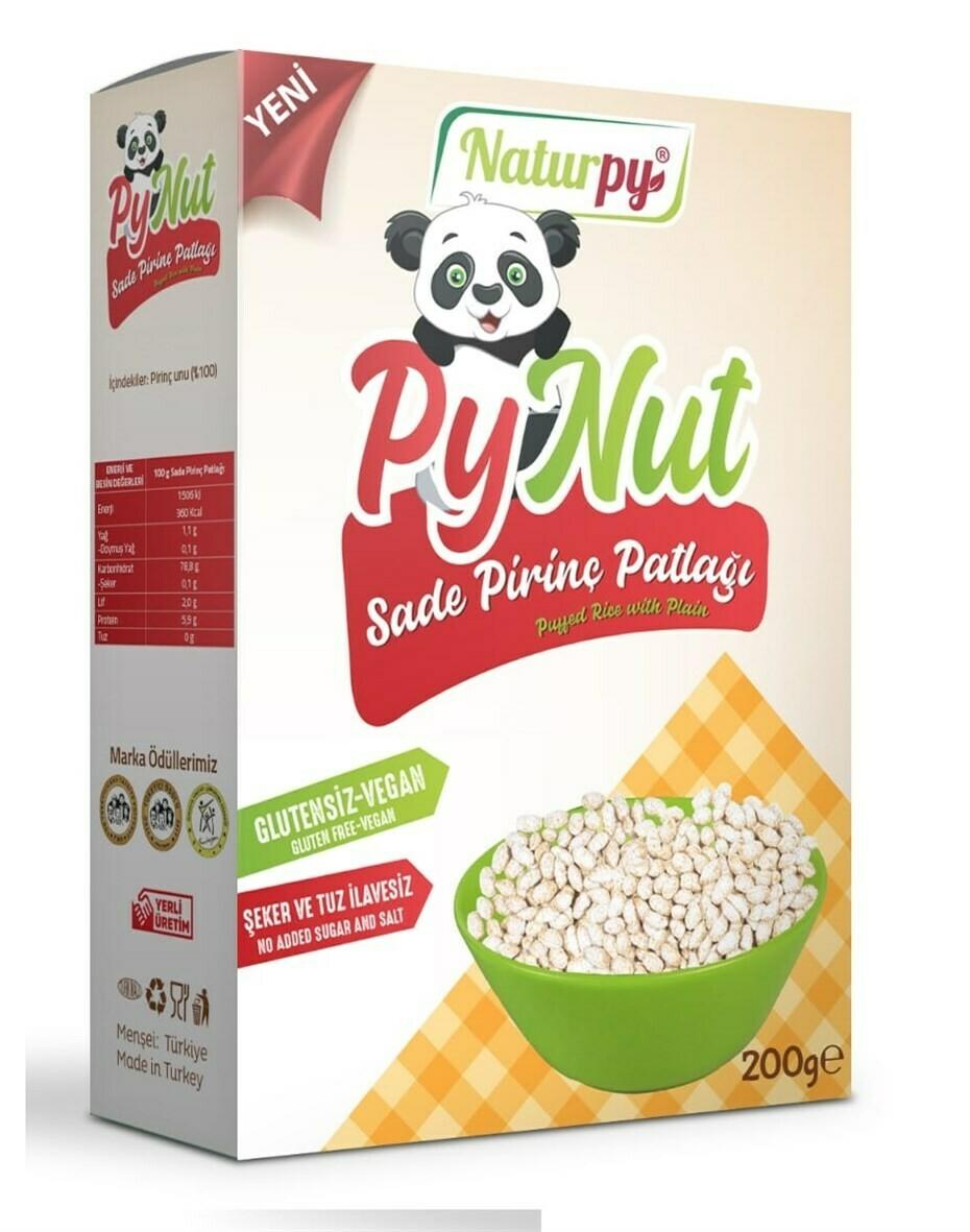 Naturpy Glutensiz Vegan Sade Pirinç Patlağı